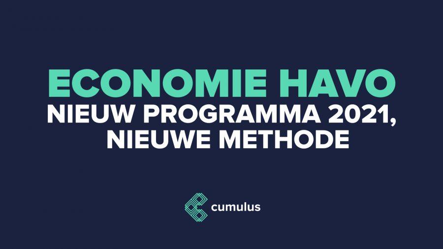 Heel veel schrappen in het nieuwe examenprogramma economie havo!